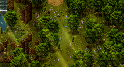 Screenshot de map RPG Maker par RitoJS